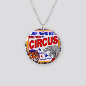 Vintage Circus Poster Necklace