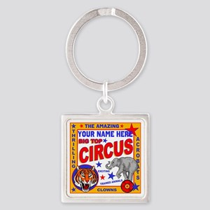 Vintage Circus Poster Keychains