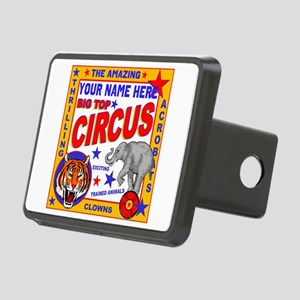Vintage Circus Poster Hitch Cover
