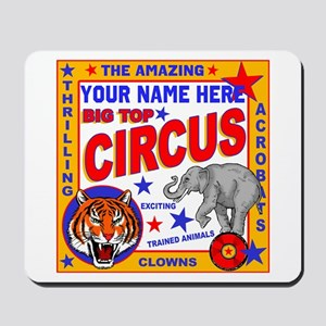 Vintage Circus Poster Mousepad