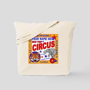 Vintage Circus Poster Tote Bag