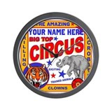 Circus Wall Clocks