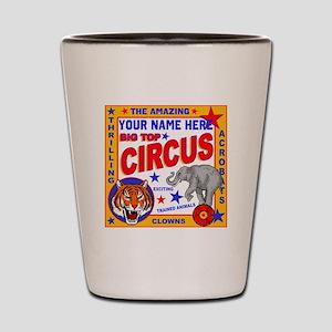 Vintage Circus Poster Shot Glass