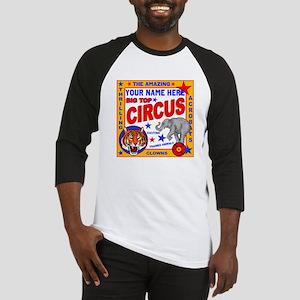Vintage Circus Poster Baseball Jersey