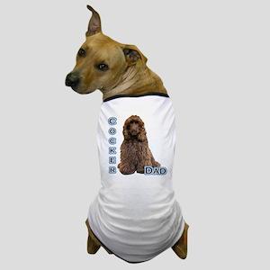 Cocker(brn) Dad4 Dog T-Shirt