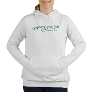 Alpha Sigma Tau Defining Women's Hooded Sweatshirt