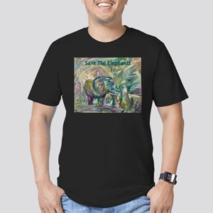 Sacred Place Men's Fitted T-Shirt (dark)