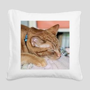 Zzzz Square Canvas Pillow