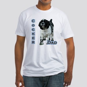 Cocker(parti) Dad4 Fitted T-Shirt