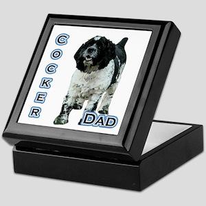 Cocker(parti) Dad4 Keepsake Box