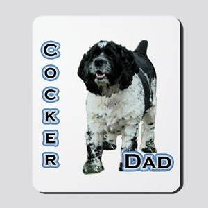 Cocker(parti) Dad4 Mousepad