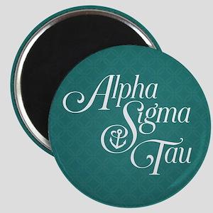 Alpha Sigma Tau Vertical Magnet