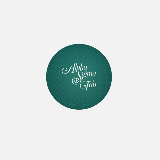 Alpha Sigma Tau Vertical Mini Button