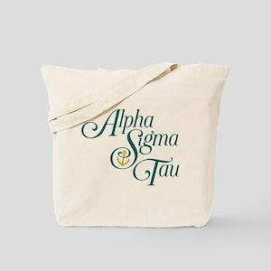 Alpha Sigma Tau Vertical Tote Bag