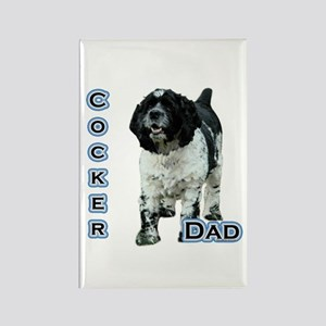 Cocker(parti) Dad4 Rectangle Magnet