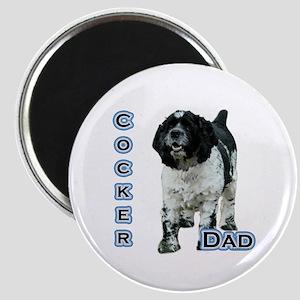 Cocker(parti) Dad4 Magnet