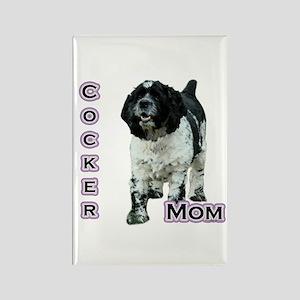 Cocker(parti) Mom4 Rectangle Magnet