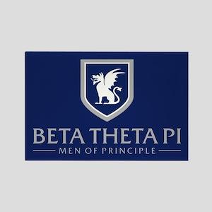 Beta Theta Pi Rectangle Magnet