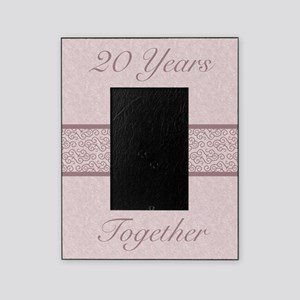 Rustic 20th Anniversary Picture Frame