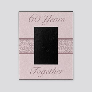 Rustic 60th Anniversary Picture Frame