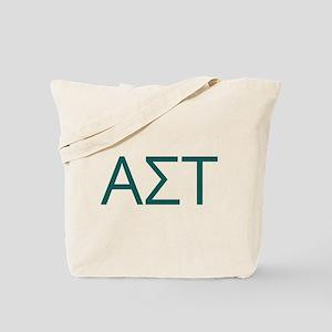 Alpha Sigma Tau Initials Tote Bag