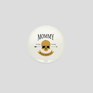 Mommy Skull Mini Button
