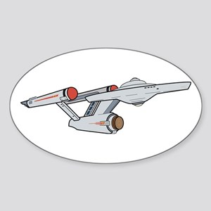TOS Starship - Animated Sticker