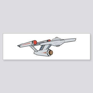 TOS Starship - Animated Bumper Sticker