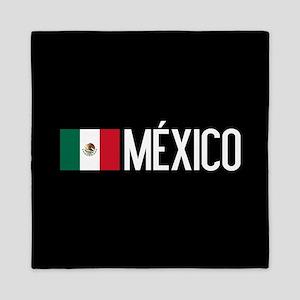 Mexican Flag & México Queen Duvet