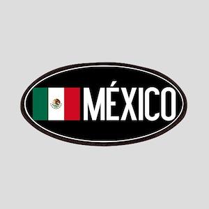 Mexican Flag & México Patch