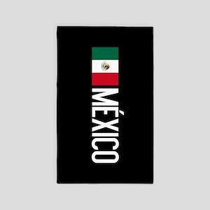 Mexican Flag & México Area Rug