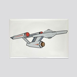 TOS Starship - Animated Magnets