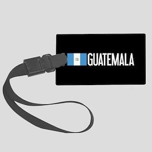 Guatemalan Flag & Guatemala Large Luggage Tag