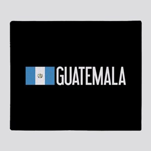 Guatemalan Flag & Guatemala Throw Blanket