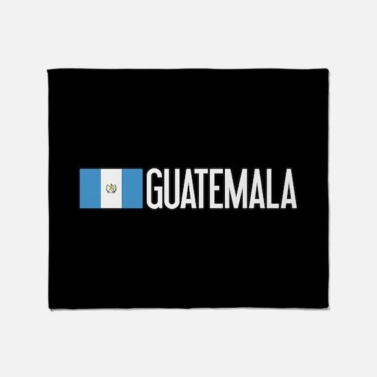 Guatemalan Flag & Guatemala Throw Blanket