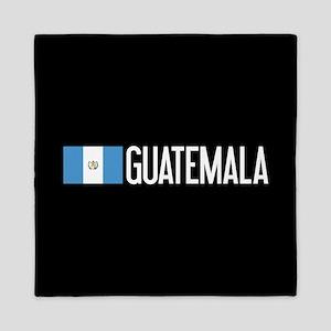 Guatemalan Flag & Guatemala Queen Duvet