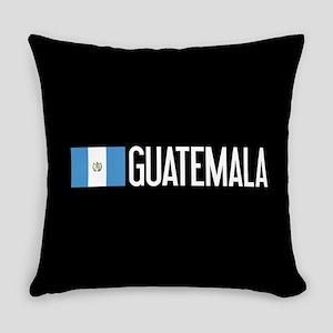 Guatemalan Flag & Guatemala Everyday Pillow