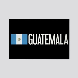 Guatemalan Flag & Guatemala Rectangle Magnet