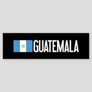 Guatemalan Flag & Guatemala Sticker (Bumper)