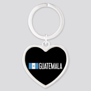Guatemalan Flag & Guatemala Heart Keychain