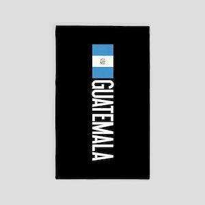 Guatemalan Flag & Guatemala Area Rug