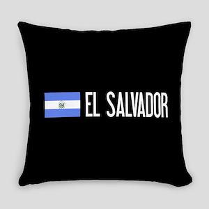 El Salvadoran Flag & El Salvador Everyday Pillow