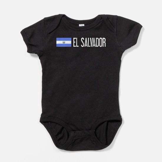 El Salvadoran Flag & El Salvador Baby Bodysuit