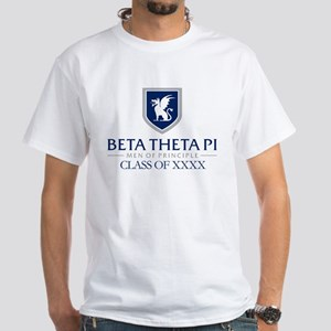 Beta Theta Pi Class Of Personalized White T-Shirt
