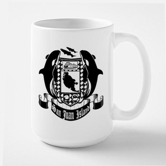 San Juan Island crest Mugs