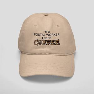 Postal Worker Need Coffee Cap