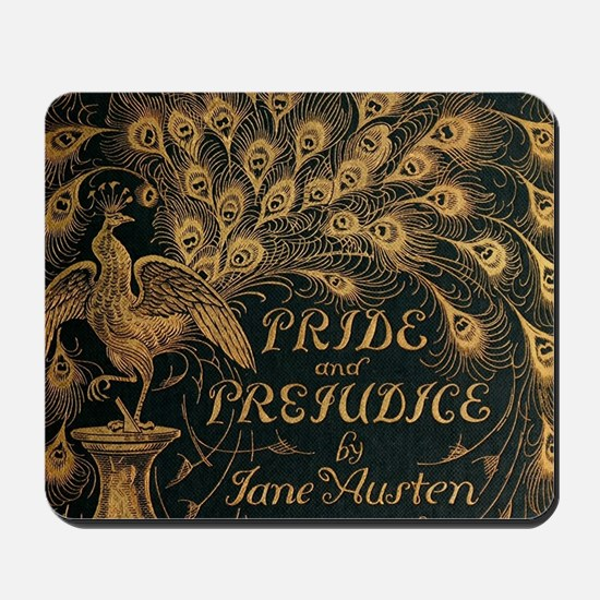 Pride and Prejudice Bookcover Mousepad