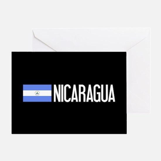 Nicaraguan Flag & Nicaragua Greeting Card