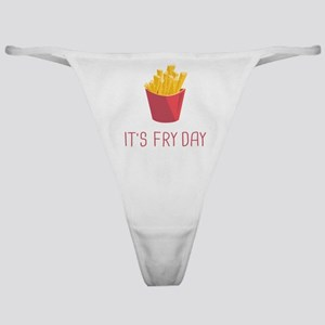 It's Fry Day Classic Thong