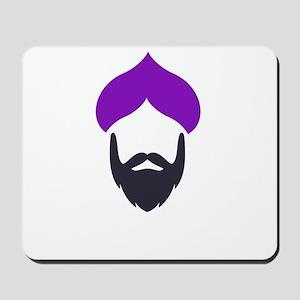 Funky Singh Purple Mousepad